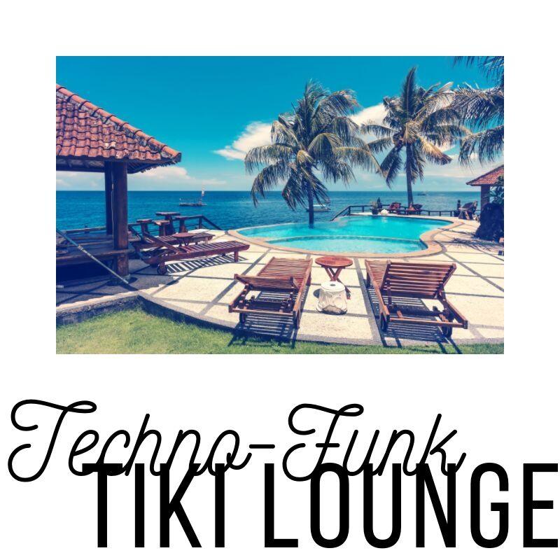 Spotify playlist cover: Technofunk Tiki Lounge