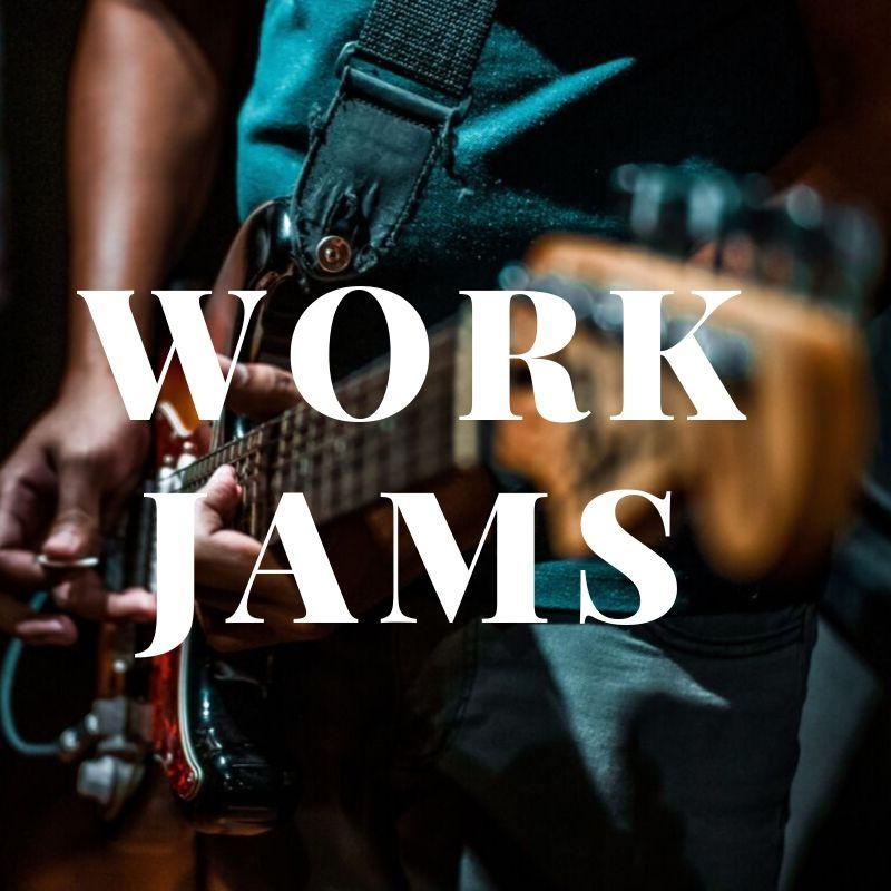 Spotify playlist cover: Work Jams